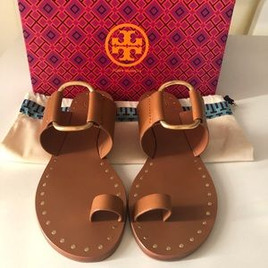 Brand New Tory Burch Ravello Studded Sandals
